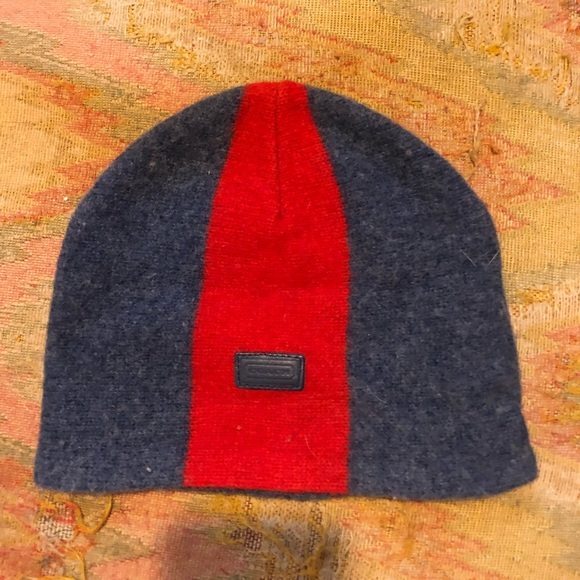 Coach Other - Authentic kids COACH wool hat small